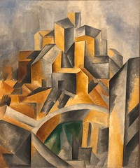1909, Pablo Picasso, The Reservoir, Horta de Ebro (R.M.Lenox) Tags: pablopicasso spanish museumofmodernart moma accuratecolor highresolution painting museum chronology timeline