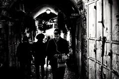 Jerusalem by Night (勇 YoungAdventure) Tags: jerusalem palestine israel orthodox jewish oldquarter walkman