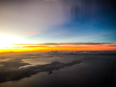 Sunset in the Clouds over Philipines (Bluebullet1) Tags: landscape sunset cloud sky beauty light outside colour sea