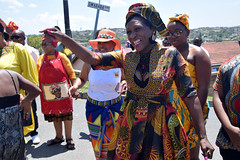 DSC_8780 Sbusi Zulu Umemulo Coming of Age Ceremony South African Zulu Cultural Singing and Dancing Umlazi Durban November 2019 With Andile (photographer695) Tags: sbusi zulu umemulo coming age ceremony south african cultural singing dancing umlazi durban november 2019 known is an important ritual that celebrates young girls journey womanhood the indicates girl has transitioned from child adult woman who can now get married with andile