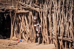 Dodoth Tribe (Rod Waddington) Tags: africa african afrique afrika uganda ugandan eastern dodoth tribe boy culture cultural child candid sticks village ethnic ethnicity traditional tribal