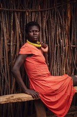 Turkana Tribe (Rod Waddington) Tags: africa afrika african afrique uganda ugandan turkana tribe woman village beads karamoja cluster culture cultural ethnic