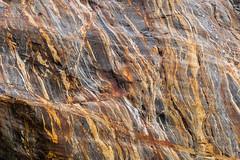 Rock face at Dawes Glacier (jeff's pixels) Tags: juneau alaska nature rock pattern endicott dawes glacier