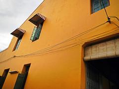 Yellow building in Penang, Malaysia (albatz) Tags: yellow wall building penang malaysia