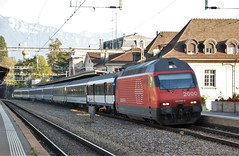 Vevey 30.09.2009 (The STB) Tags: suisse swissrailways switzerland swisstrains dieschweiz svizzera bahn eisenbahn railway railways train zug