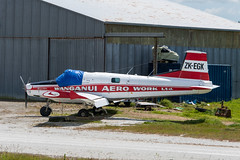 Wanganui Aero Work Ltd. Fletcher FU-24A-954; ZK-EGK (Aero Icarus) Tags: plane avion aircraft flugzeug newzealand