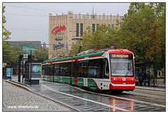 Tram Chemnitz - 2019-08 (olherfoto) Tags: bahn eisenbahn triebwagen citybahn chemnitz tram tramcar tramway strasenbahn strassenbahn villamos citylink