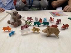 Little Boar - Stefano Borroni (Stefano Borroni (Stia)) Tags: origami origamipaper origamicdo origamilove origamiart piegarelacarta arte folding foldingpaper papiroflexia carta animali natura wwf boar cinghiale littleboar cinghialetto