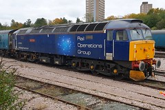 47813 Leicester 21.10.19 (jonf45 - 5 million views -Thank you) Tags: train br britishh rail operations group class 47 47813 leicester