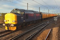 37612 Ely 18.10.19 (jonf45 - 5 million views -Thank you) Tags: train br britishh rail drs 37612 class 37 ely