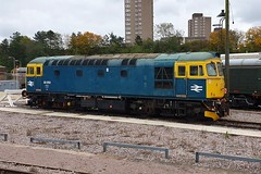 33053 Leicester 21.10.19 (jonf45 - 5 million views -Thank you) Tags: train br britishh rail blue 33053 leicester