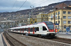 Vevey 19.01.2018 (The STB) Tags: suisse swissrailways switzerland swisstrains dieschweiz svizzera bahn eisenbahn railway railways train zug