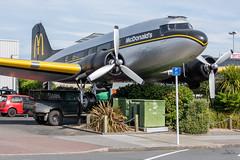 McDonald's Douglas DC-3C-S1C3G; ZK-CAW@ Taupo;06.11.2019 (Aero Icarus) Tags: taupo plane avion aircraft flugzeug newzealand mcdonalds douglasdc3cs1c3g zkcaw dc3