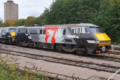 91117 Leicester 21.10.19 (jonf45 - 5 million views -Thank you) Tags: train br britishh rail europheonix 91117 class 91 leicester 2019