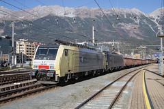RTC 189 902 + 193 654 Innsbruck Hbf (daveymills37886) Tags: rtc 189 902 193 654 innsbruck hbf baureihe siemens cargo es64f4