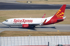 SpiceXpress | Boeing | 737-75D(BDSF) | VT-SFB (TFG Lau) Tags: vhhh hkg hkia hongkong hongkonginternationalairport airplane aeroplane aircraft aviation plane planespotting spotting canon canoneos canon5dmarkiii eos eos5dmarkiii ahkgap spicejet spicexpress sej sg boeing boeing737 b737 b737f b737bdsf vtsfb cargoplane cargojet