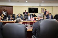 TIP Ambassador John Richmond meets with Minister of Human Resources YB Kula Segaran (United States Embassy Kuala Lumpur) Tags: tip ambassador john richmond meets with minister human resources yb kula segaran