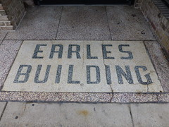 Hagerstown, MD Earles Building terrazzo (army.arch) Tags: hagerstown maryland md historic historicdistrict historicpreservation nrhp nationalregister nationalregisterofhistoricplaces sign terrazzo