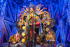 Durga Puja (Sid's Corner) Tags: green kolkata india indianculture incredibleindia east bengal west indian streetphotography city calcutta durga puja durgapuja festival indianfestivals religion bengali durgamata colors navratri devi durgapujo tradition westbengal pandal