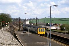 07/05/1986 - Barnetby, North Lincolnshire. (53A Models) Tags: britishrail derby lightweight class108 dmu diesel passenger barnetby northlincolnshire train railway locomotive railroad