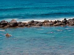 Swimming on the Indian Ocean. (miroir.photographie) Tags: pentax645n 974 mediumformat argentique analog kodak ektar filmisnodead istillshootfilm pentax laréunion
