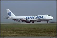 "BOEING747 212B ""PAN AM"" N723PA 21439 Frankfurt octobre 1990 (paulschaller67) Tags: boeing747 212b panam n723pa 21439 frankfurt octobre 1990"