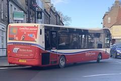Borders Buses 11725 YJ17 FZA (13/11/2019) (CYule Buses) Tags: service60 bordersbuses wcm westcoastmotors metrocity optare optaremetrocity yj17fza 11725
