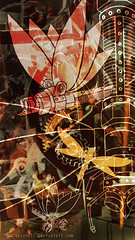Mechanical 3 (lwbttupo31) Tags: clockwork dragonfly gear gold insect mechanic mechanical steampunk wings rusty photomanipulation fly surreal abstract abstraction