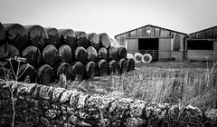 Stainton . (wayman2011) Tags: canon5d colinhart lightroom5 wayman2011 bw mono rural farms pennines dales teesdale stainton countydurham uk