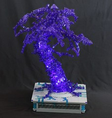 Crystalline Tree (donuts_ftw) Tags: lego moc tree bionicle organic transpurple purple ccbs