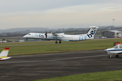 Photo of G-ECOF take off.