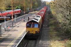 66015 (6M82) (Worcestershed) Tags: 66015 dbcargo ews dbshenker class66
