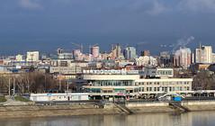 Barnaul skyline in 2014 (znamenshchikov) Tags: altay altai 2014 nikond7000 nikon70300mm skyline cityview cityscape city siberia autumn barnaul алтайскийкрай барнаул
