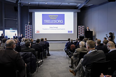 Agritechnica Hanover 2019 (TrelleborgAgri) Tags: presentation paolo pompei president trelleborg wheel systems tractor year people agritechnica hanover 2019