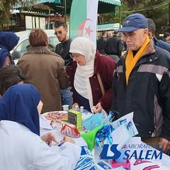 Les laboratoires SALEM à l'Université d'Alger 2, Bouzareah (Laboratoires SALEM) Tags: santé diabète check3 octobrebleu salem salemdiagnostics labosalem alger algérie bouzareah université sensibilisation