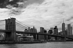 Vista de Manhattan (Samarrakaton) Tags: samarrakaton nikon d750 2470 2019 nyc nuevayork newyork usa eeuu estadosunidos norteamerica travel viaje holidays vacaciones bridge puente manhattan byn bw blancoynegro blackandwhite monocromo