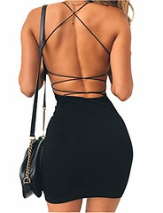 just quella Women Sexy Bodycon Party Dresses Backless Spaghetti Straps Clubwear Mini Dress (shop8447) Tags: backless bodycon clubwear dress dresses just mini party quella sexy spaghetti straps women