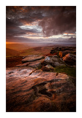 Higger Tor - The Peak District / November 3rd (Edd Allen) Tags: higgertor sunset sun light nikon countryside country atmosphere atmospheric zeissdistagon18mm zeiss 18mm landscape uk england greatbritain britain hills ethereal serene bucolic tor nikond810 d810 wideangle thepeakdistrict