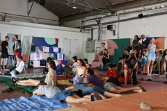 Okay Confiance (YesWeCamp) Tags: performance collectif installation artistique art