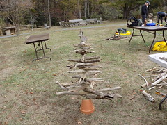 CA_Drift Into the Holiday Season (vastateparksstaff) Tags: nature crafts art christmas outdoors fun family trees creative driftwood caledon caledonstatepark vastateparks parks