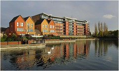 Lakeside Doncaster. (A tramp in the hills) Tags: lakeside doncaster yorkshire
