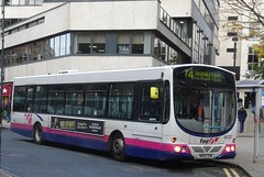 Leeds (Andrew Stopford) Tags: mv02vcm volvo b7l wright eclipse first leeds