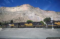 The Helper Helper (jamesbelmont) Tags: railroad dstreet locomotive railway train bookcliffs sd40t2 emd tunnelmotor drgw riogrande