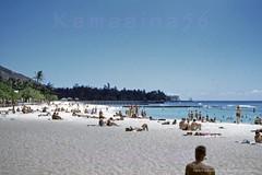Kuhio Beach Park Waikiki 1952 (Kamaaina56) Tags: 1950s waikiki hawaii beach slide