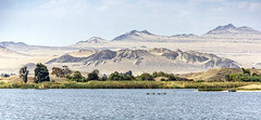 Laguna La Encantada, Revisited (_aires_) Tags: aires iris huacho limaregion peru lake texture water trees desert landscape canoneos5dmarkiv canonef2470mmf28liiusm boat raft