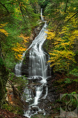 From Here to There (Justin Smith - Photography) Tags: mossglenfalls stowe vt vermont newengland waterfall autumn nikond800 nikon1735mmf28