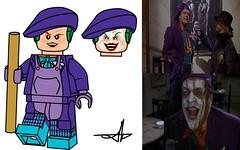 Batman: 23 Years of movies (Jacob Customs) Tags: joker painter nichelson jack series list minifigure movies batman lego