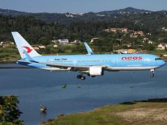 Neos | Boeing 767-306(ER)(WL) | I-NDMJ (Bradley's Aviation Photography) Tags: corfu corfuairport corfuinternationalairport cfu lgkr greece greek b767 767 b763 neos boeing767306erwl indmj canon70d boeing boeing767 aviation avgeek