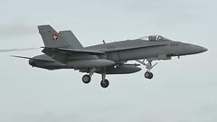 Swiss Air Force McDonnell Douglas F/A-18C J-5024 (Rob390029) Tags: swiss air force mcdonnell douglas fa18c j5024 raf leeming egxe