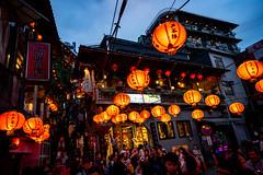 九份 A Jiufen Alley (yukilanieve) Tags: night 九份 jiufen ruifan new taipei taiwan china sony α7ii a7ii